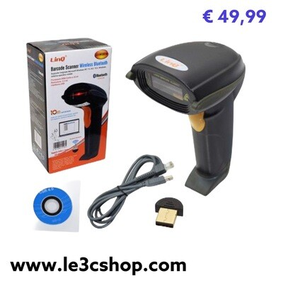 Barcode Scanner wireless bluetooth Lettore Codice A Barre linq
