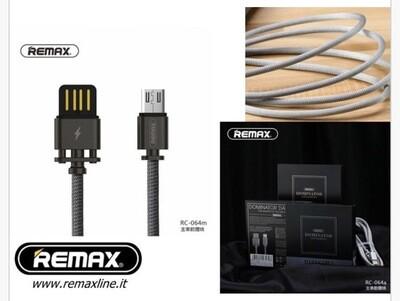 Cavo Rinforzato In Metallo Remax Micro Usb