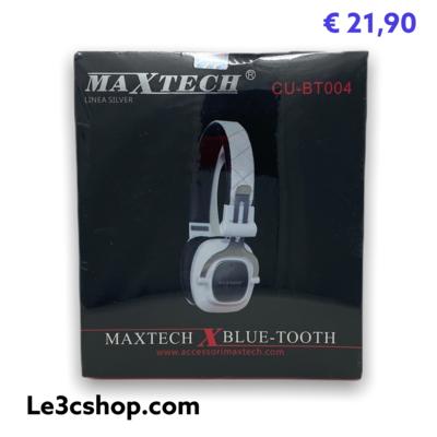 cuffia bluetooth maxtech