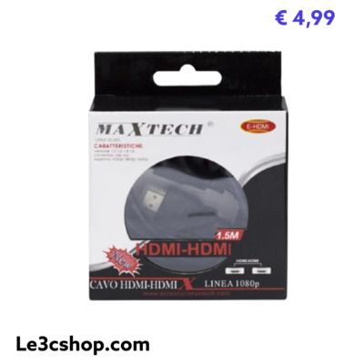 Cavo HDMI 1,5 M Maxtech