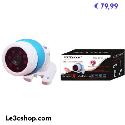 Ip Camera Per Uso Esterno Maxtech