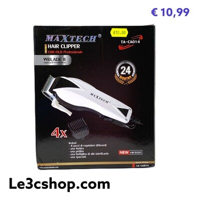 Rasoio Hair Clipper Maxtech