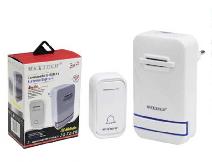 Campanello Wireless Maxtech