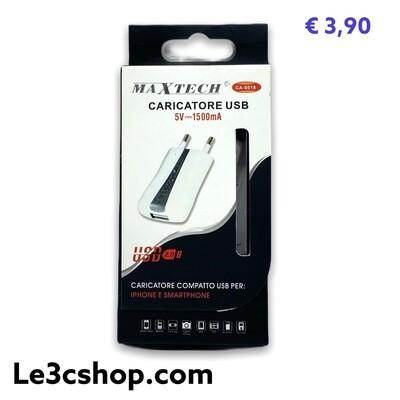 Caricatore Maxtech 1.5A 5v