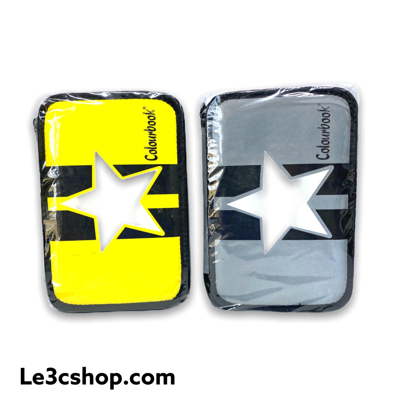 Astuccio colourbook 3 zip reflex