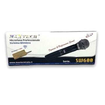 Radio Microfono Senza Filo Maxtech