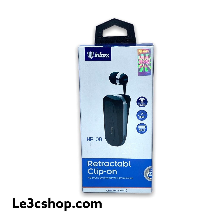 Auricolare Inkax Con Filo Retraibile Bluetooth