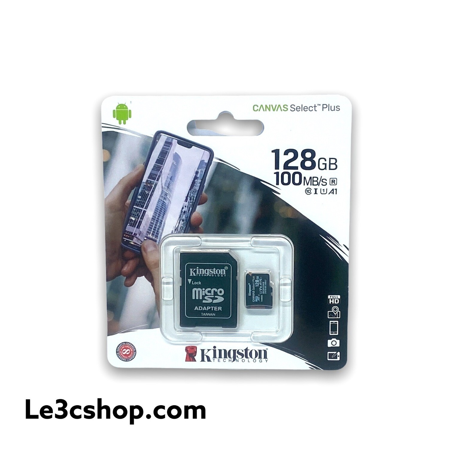 Micro Kingston Sd 128 100 Mb/s