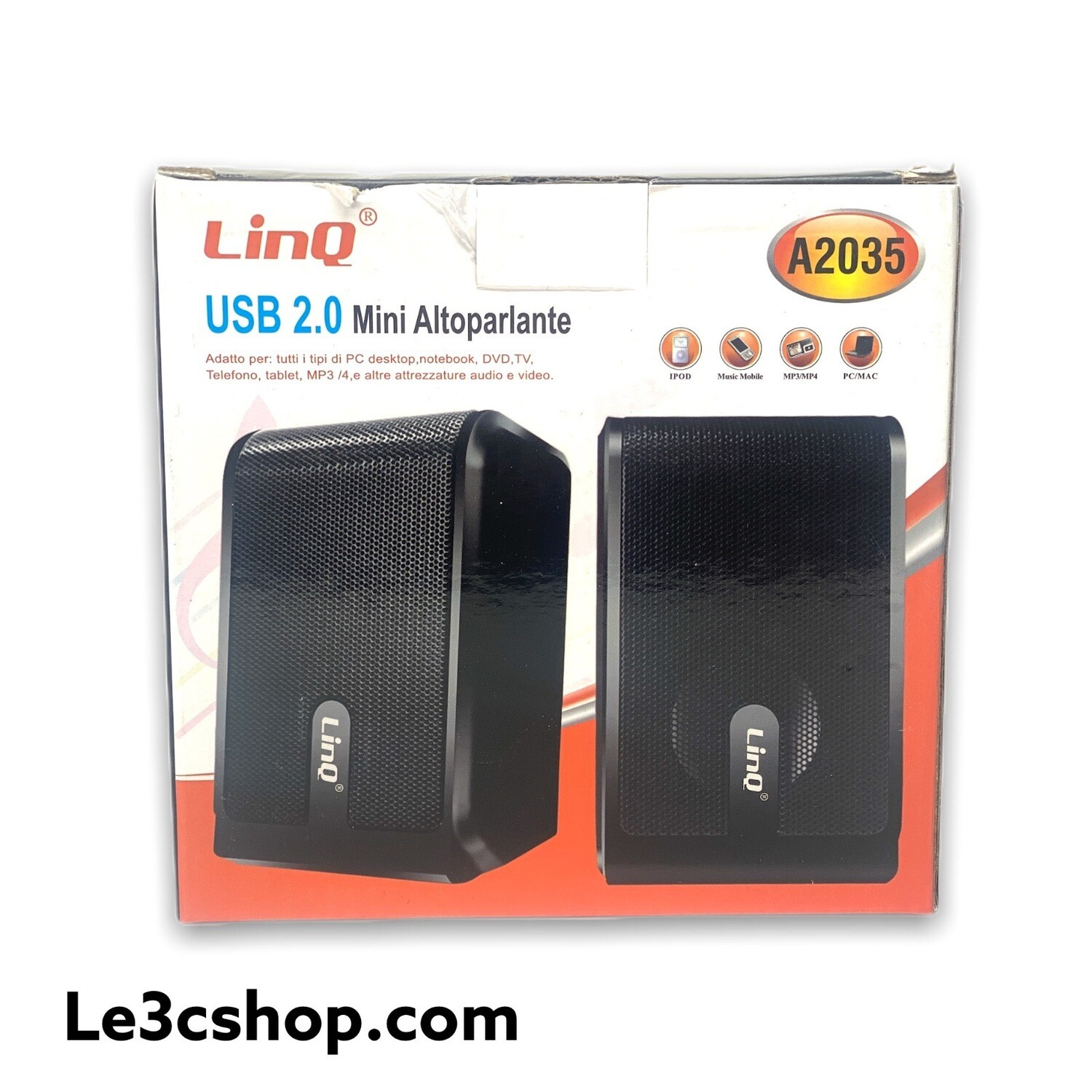 Mini Altoparlanti per Pc Linq