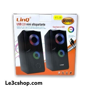 Altoparlanti Per pc Usb Linq