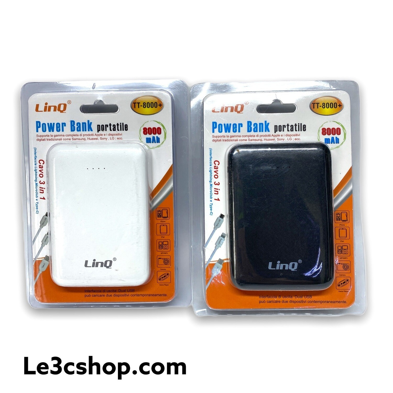 Powerbank Da 8000 MAh Linq