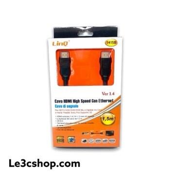 Cavo HDMI High Speed Con Eternet Linq 1,5m