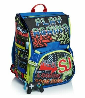 ZAINO ESTENSIBILE BIG - PLAY AGAIN seven sj schoolpack