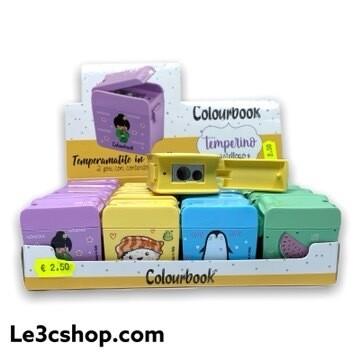 Temperamatite Colourbook Pastel