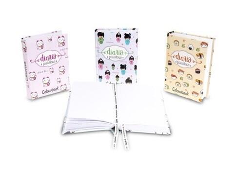 Diario Colourbook Pastelloso