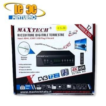 Digitale Terrestre Dvbt2 h265 HD Maxtech