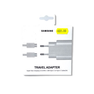 Travel adapter Samsung super fast charging