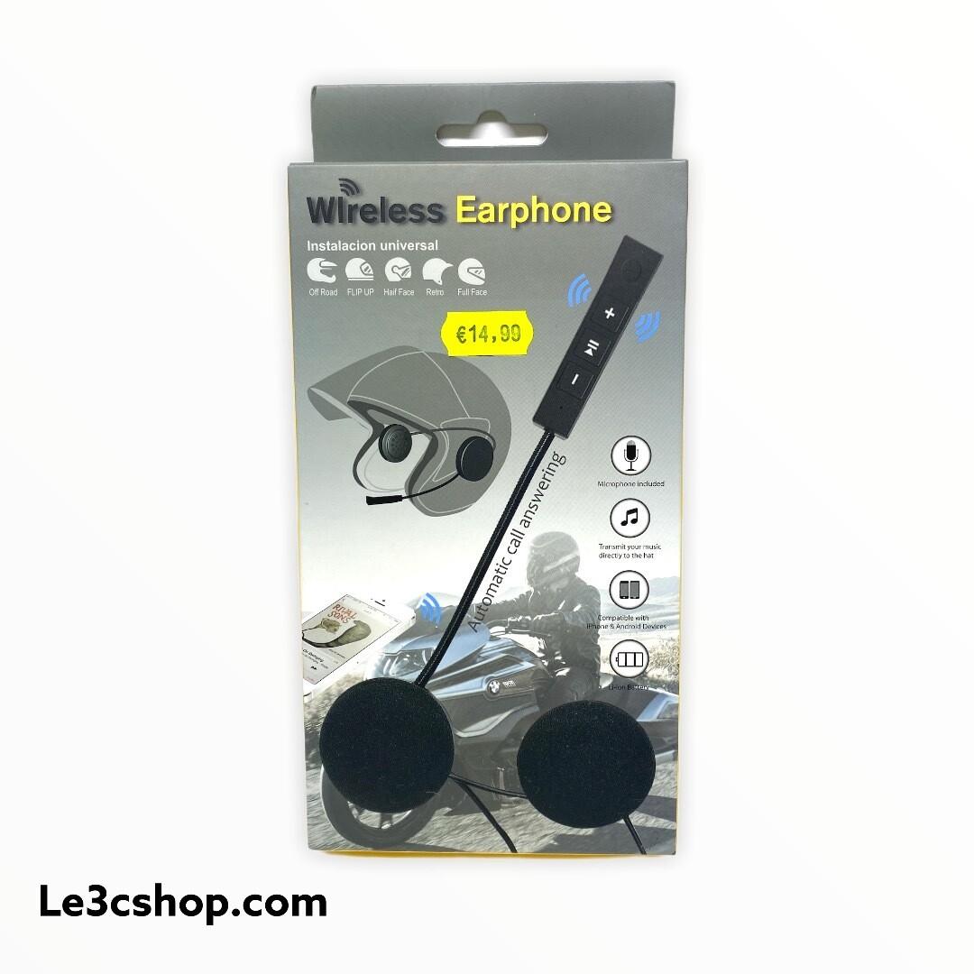Wireless earphone moto