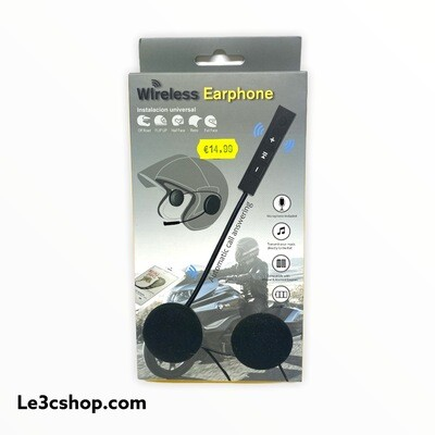 Wireless earphone moto