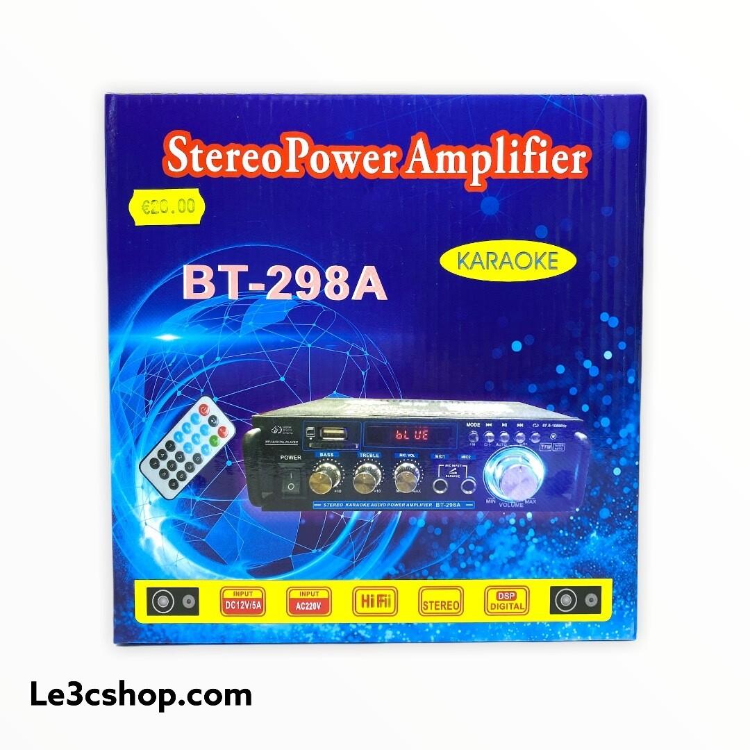 Amplificatore audio karaoke