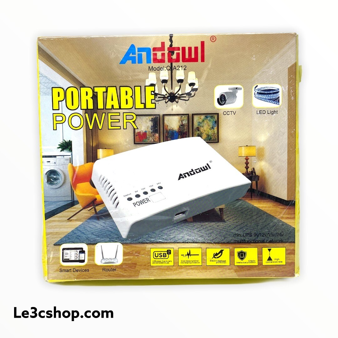 Powerbank portatile variabile