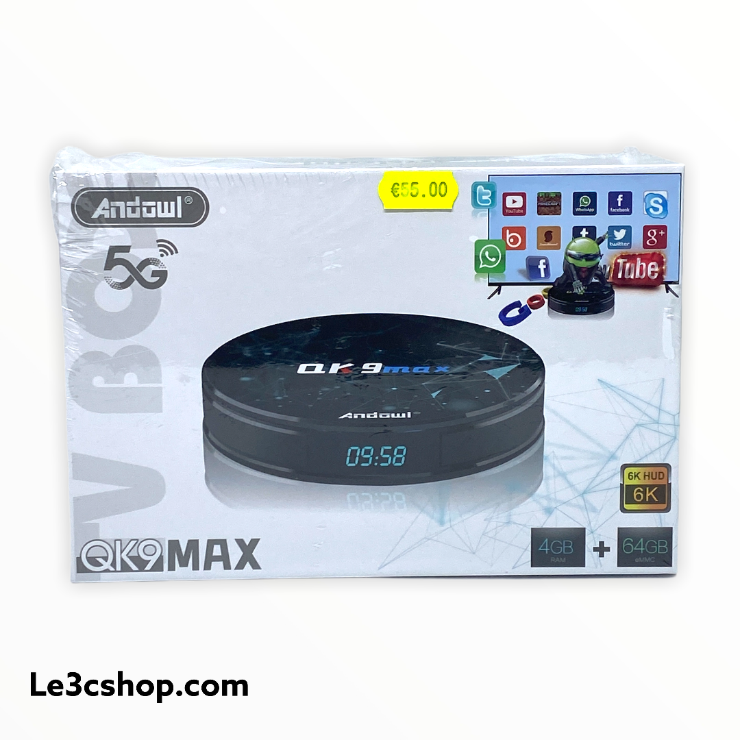 Mini pc Android qk9max andowl