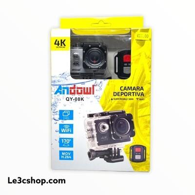 Sport camera Andowl con telecomando