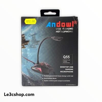 Microfono da Gaming usb Andowl