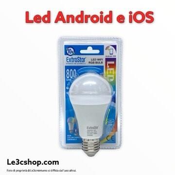 Lampadina a Led 10w rgb Android e ios