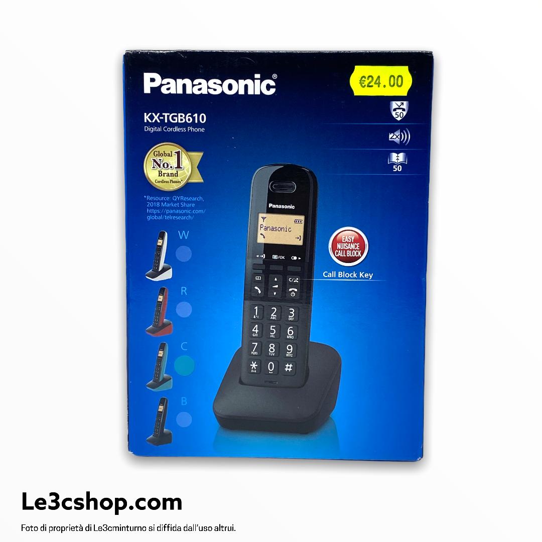 Cordless Panasonic kx-tgb610