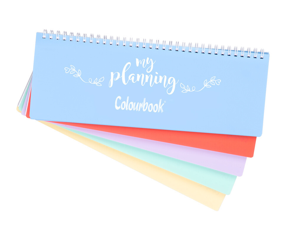 My planning pastello 29x13 cm.