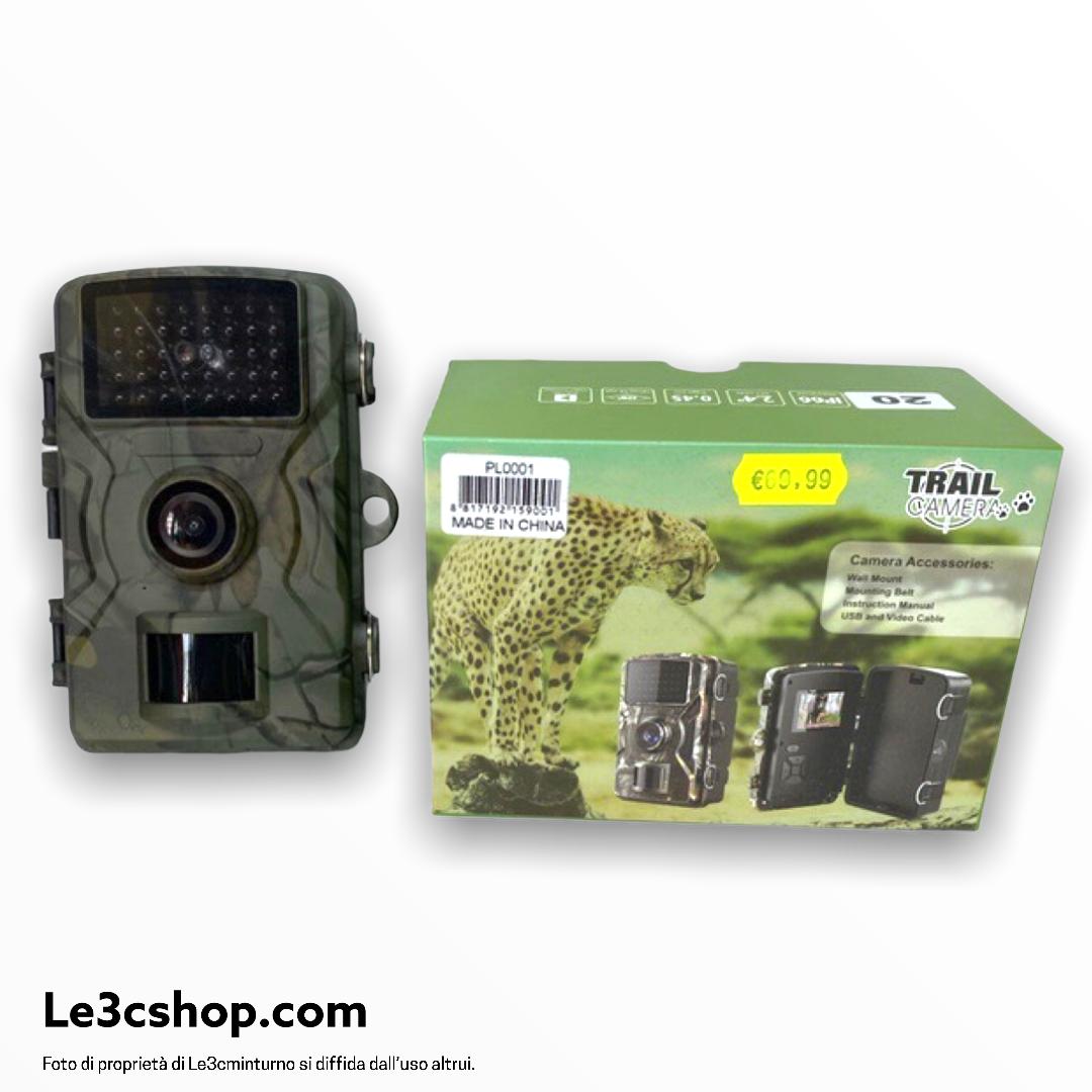Trail camera foto trappola