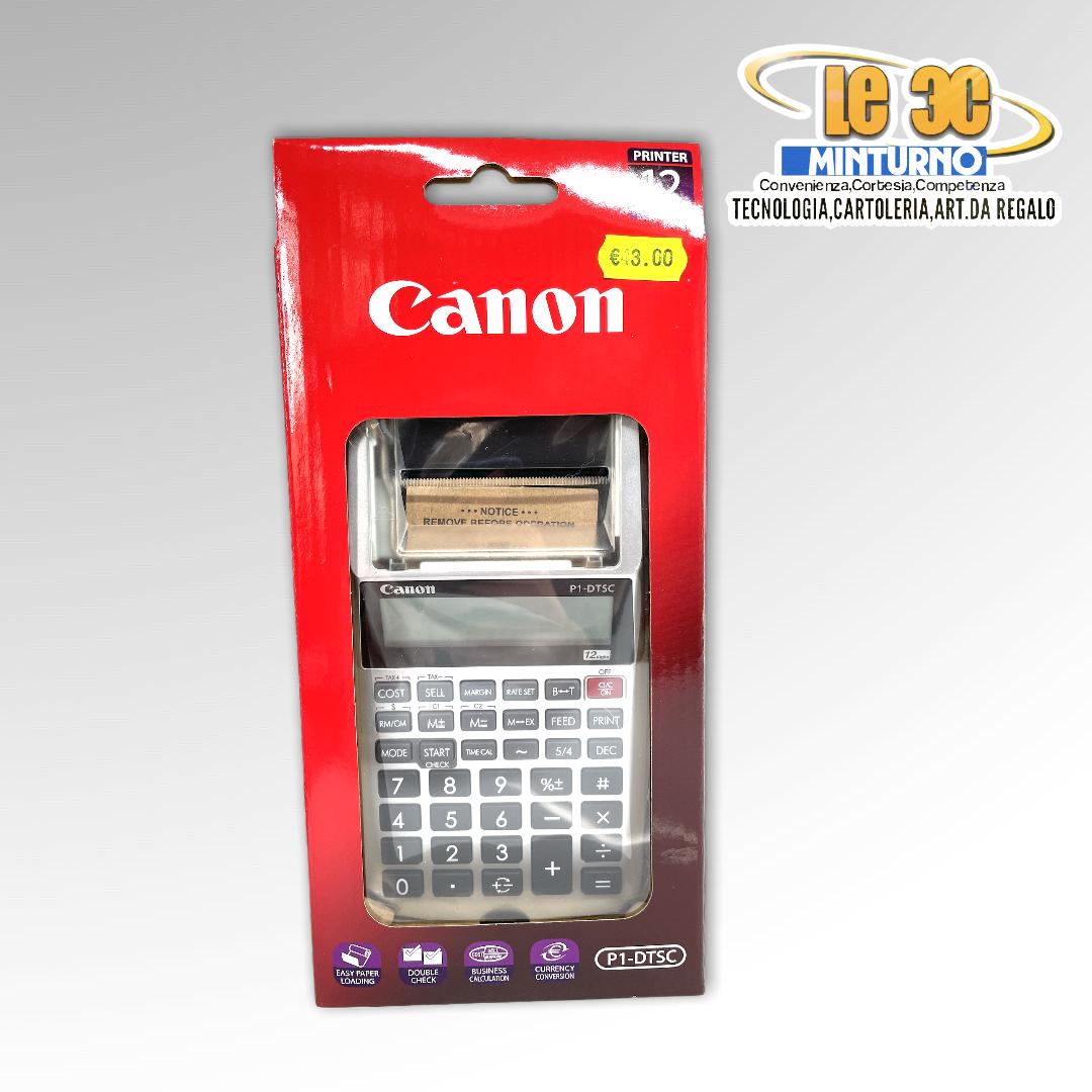 Calcolatrice Canon printing
