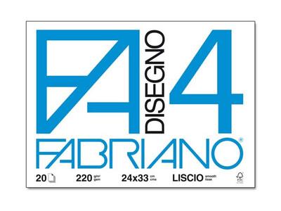 Fabriano Blocco F4 24x33 20 fogli