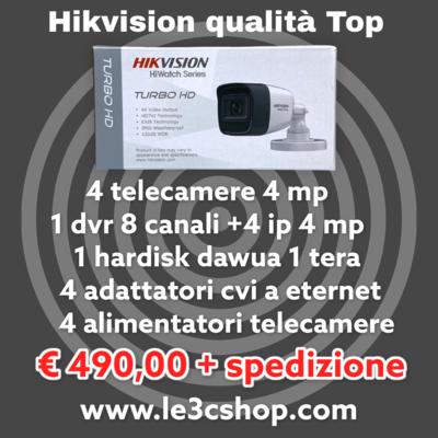 Kit Hikvision offerta