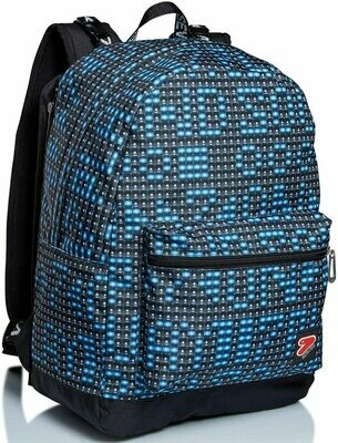 Zaino reversibile backpack seven ledwall