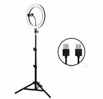 Luce e supporto per video ring 30 cm
