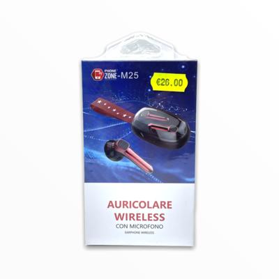 Auricolari wireless con microfono m25 phonezone