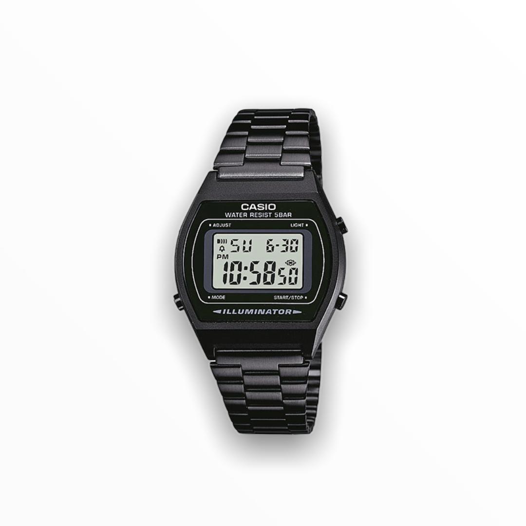 Orologio casio nero metallo B640WB-1ADF