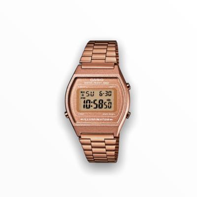 Orologio casio metallo rosa antico B640WC-5AEF