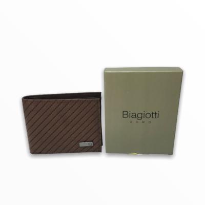 Portafoglio uomo Biagiotti t.di moro cognac