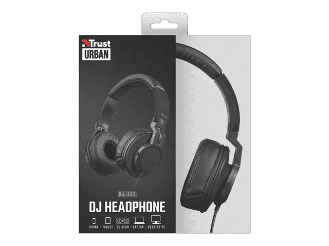 Cuffia Trust urban dj headphone dj-350