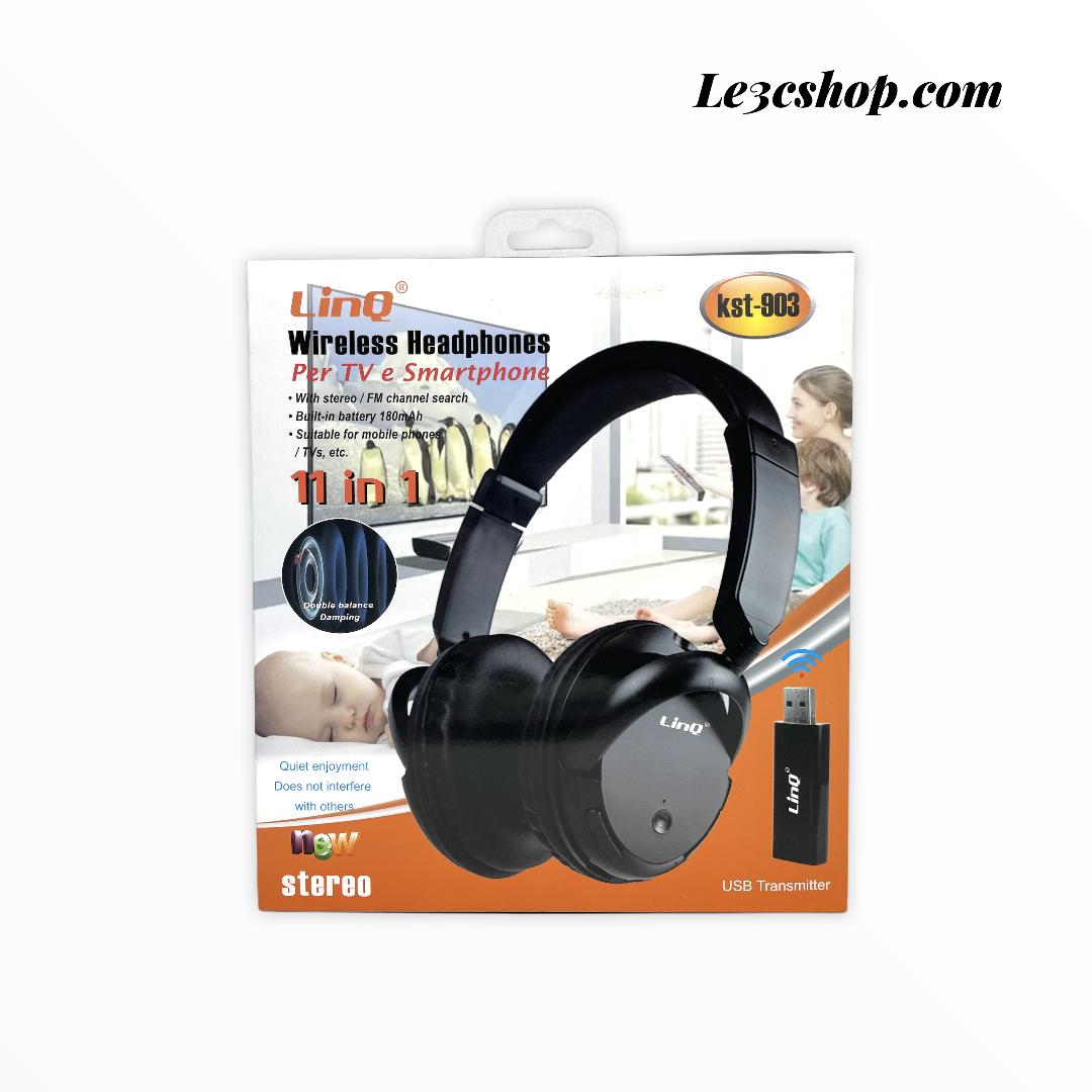 Cuffia linq per Tv wireless kst-903