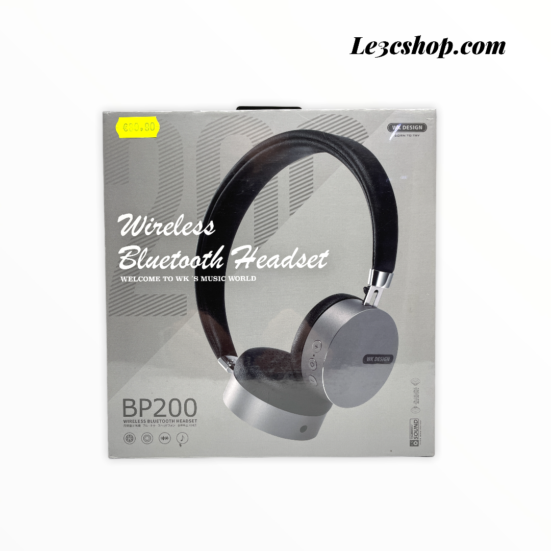 Cuffia wireless bluetooth headset wk design bp200