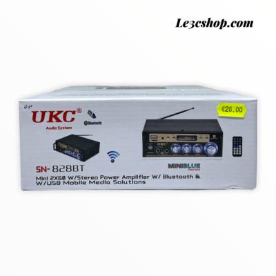 Amplificatore Bluetooth ukc sn-828bt