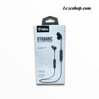 Auricolari Bluetooth Inkax hp-15 dinamic music sports headset