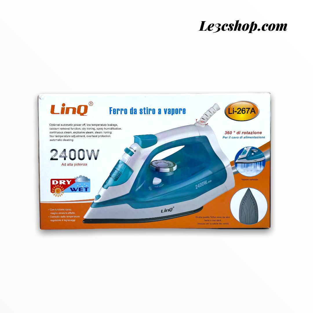 Ferro da stiro a vapore 2400w Linq li-267a