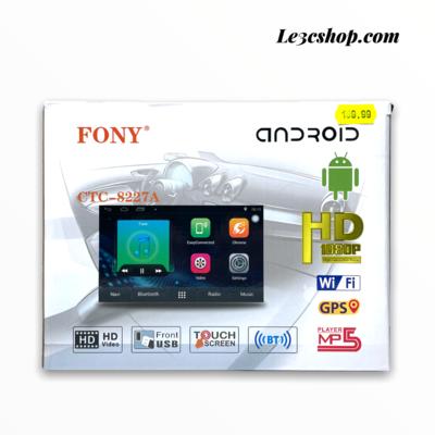 autoradio doppio din android fony ctc-8227a