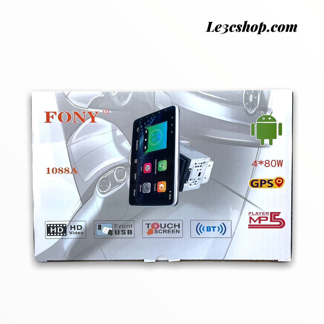autoradio doppio din android fony 10 pollici 1088a