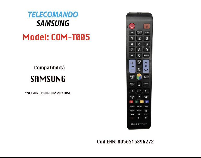 Telecomando compatibile dedicato tv Maxtech